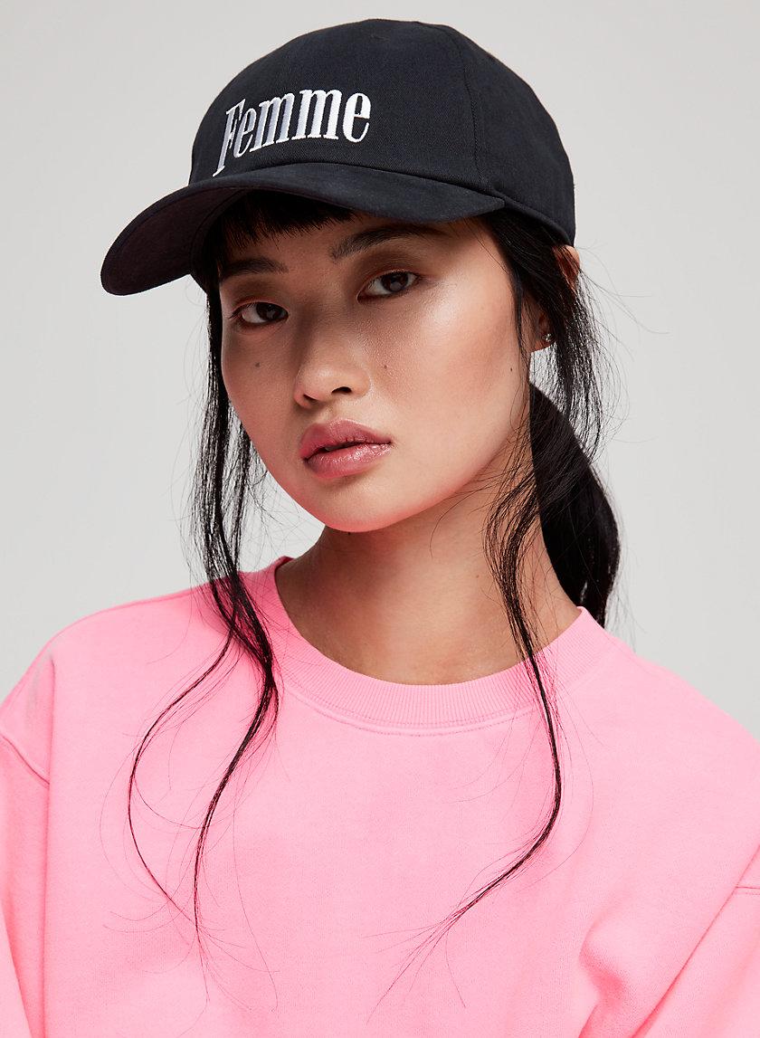 """CONVERSATION CAP - """"Femme"""" baseball hat"""