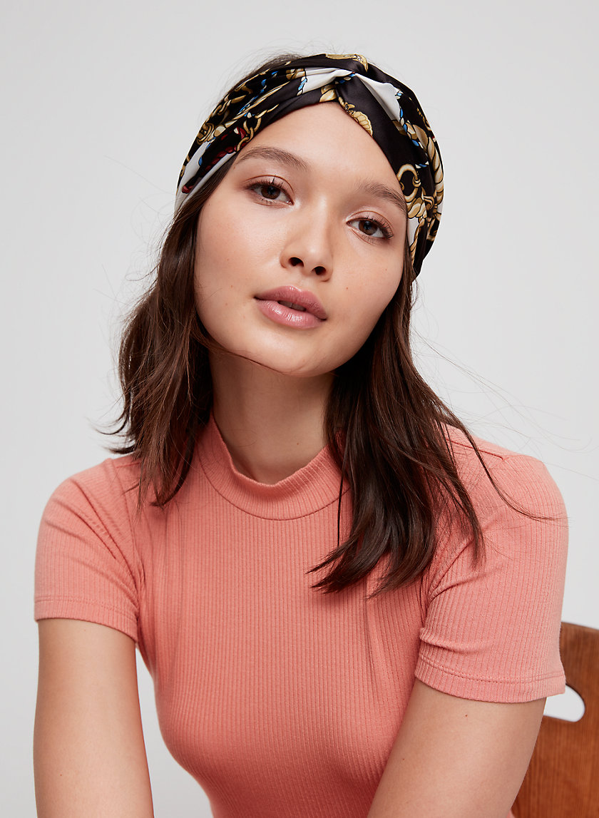 MATTIE HEADBAND - Stretchy Satin Headband