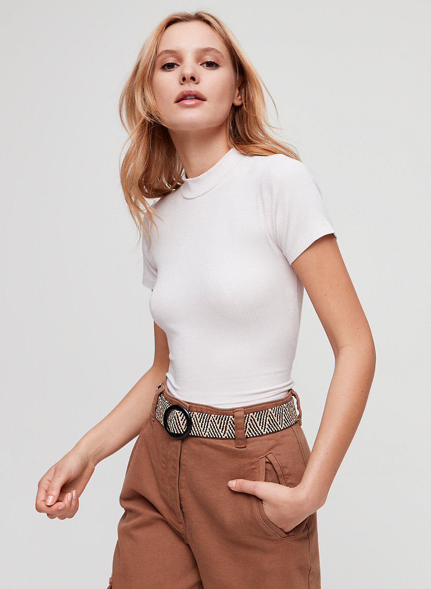 JESSIE BUCKLE BELT - Vintage-inspired, faux straw belt