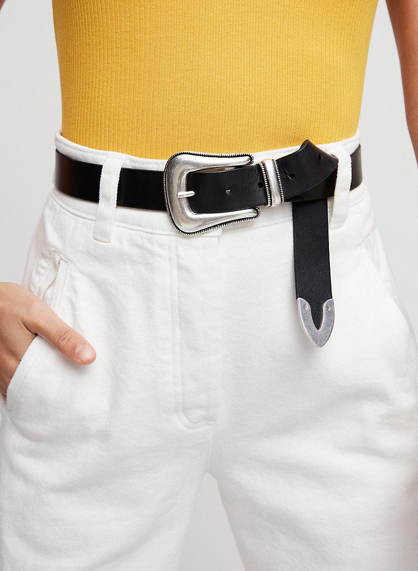 WILMA BELT - Western Leather Belt