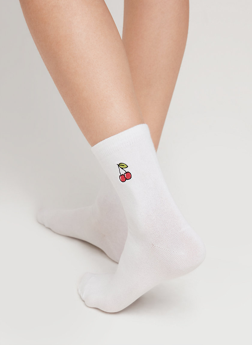 Main Character ICON HIGH ANKLE SOCK | Aritzia