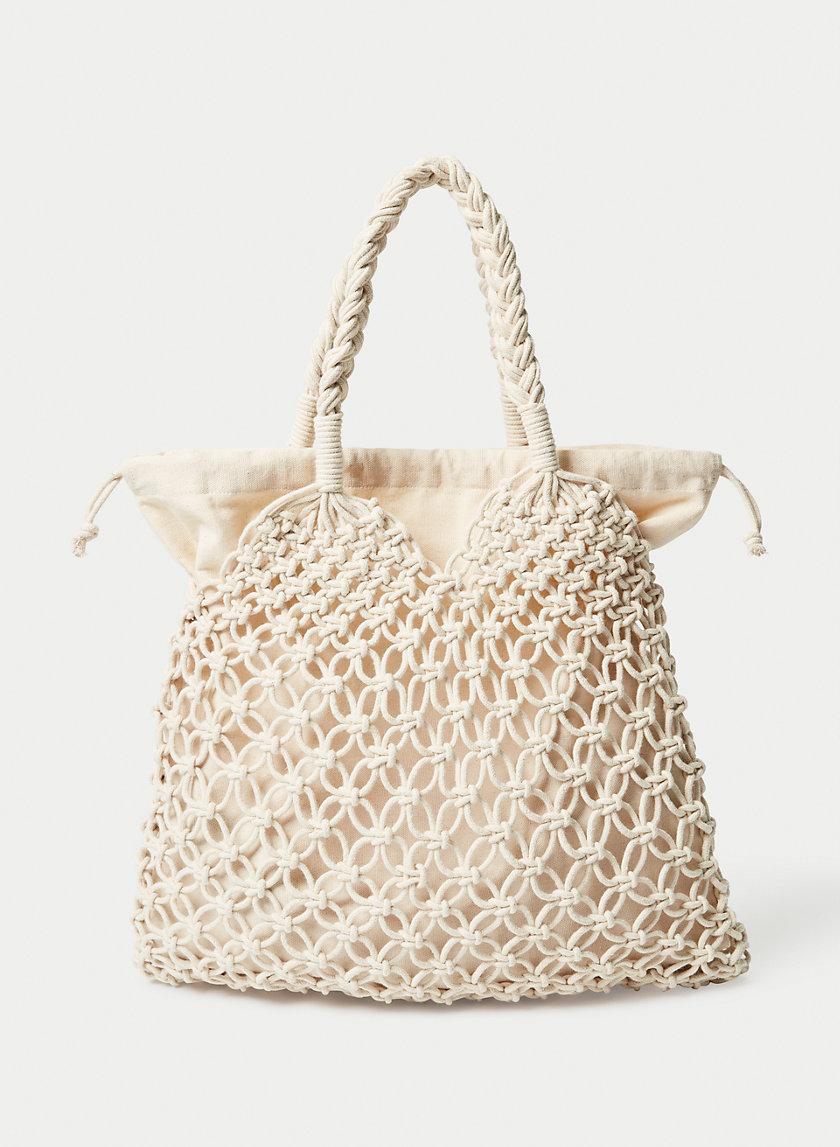KALEO TOTE - Macramé market bag