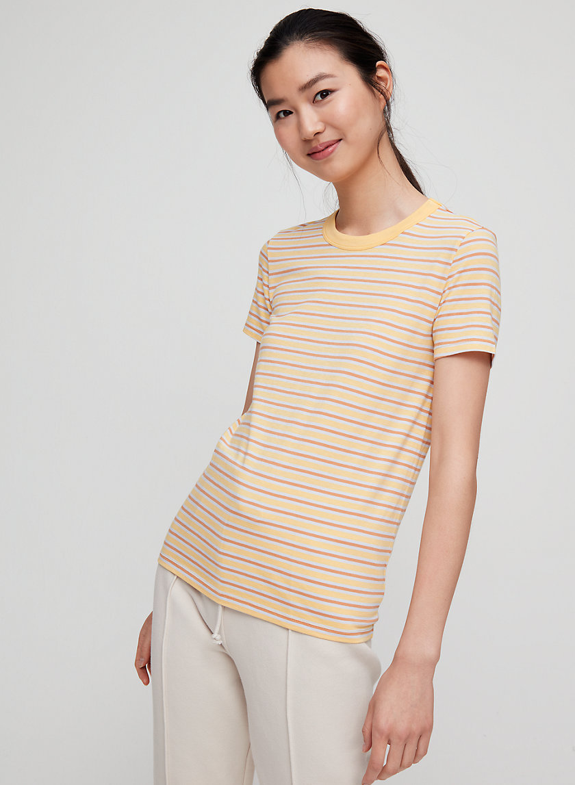 CANDY T-SHIRT - Striped, crewneck t-shirt