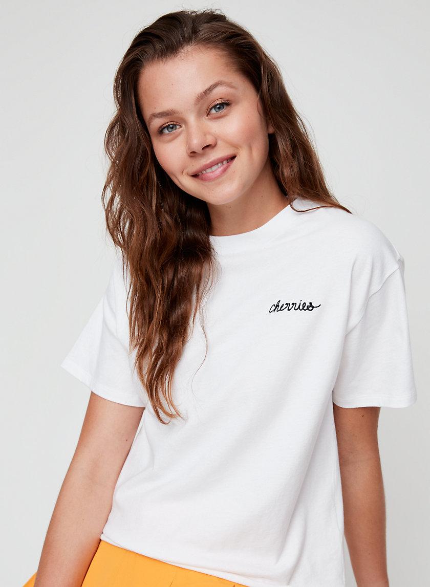 LORELAI T-SHIRT - Boyfriend crewneck t-shirt