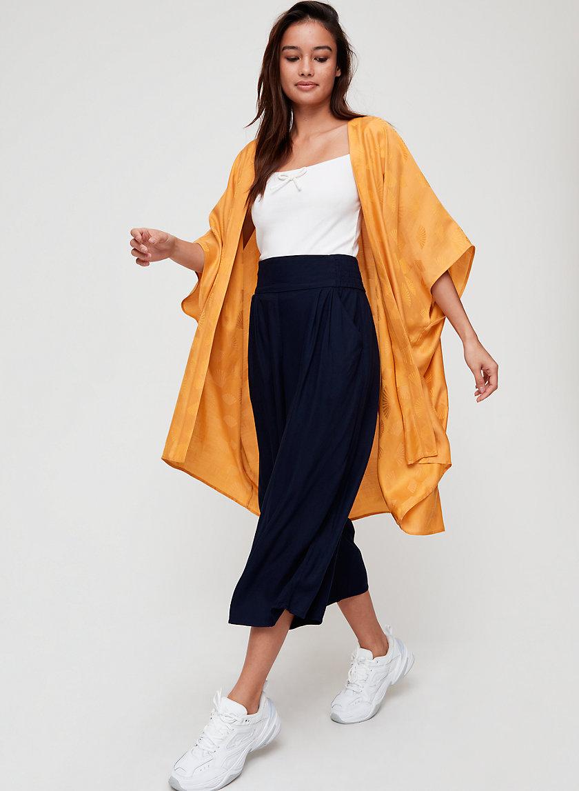 AITKEN KIMONO - Lightweight, jacquard kimono