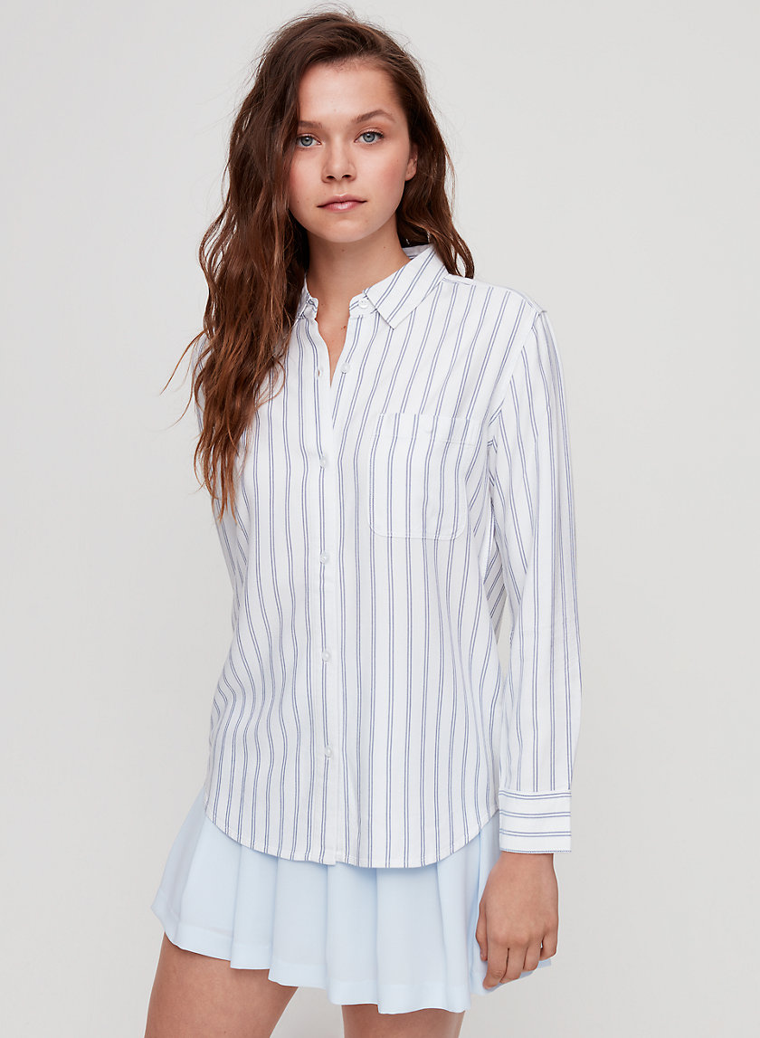 MONTANA SHIRT - Striped, button-down shirt