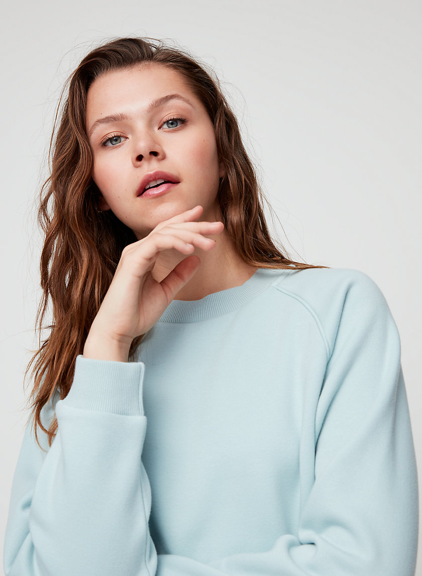 ELLE SWEATER - Relaxed crewneck sweatshirt