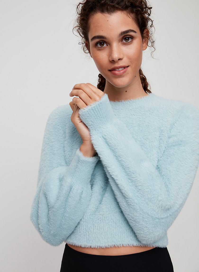 KITTEN SWEATER - Cropped, fuzzy sweater