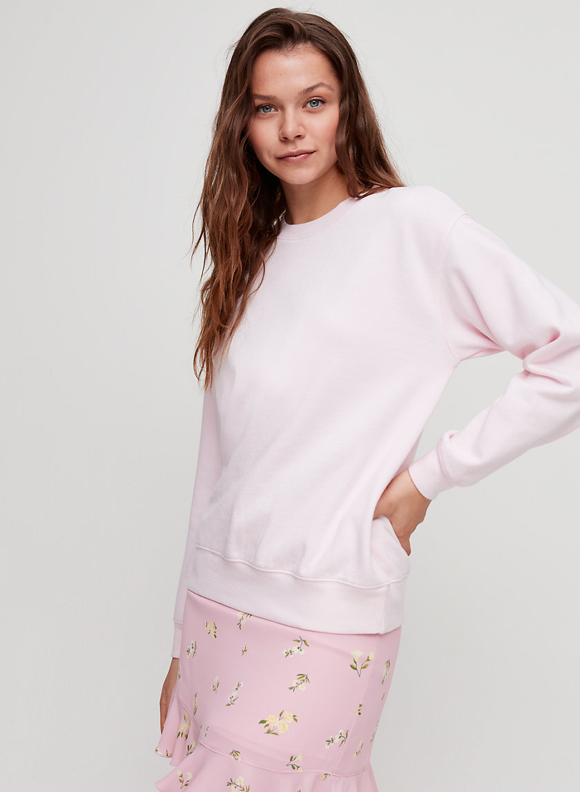 ELAINE SWEATSHIRT - Relaxed-fit crewneck sweatshirt