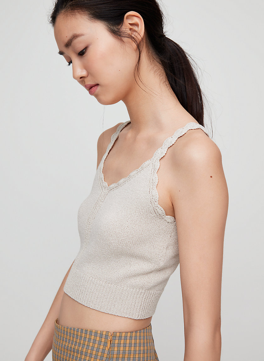 Sunday Best EOWYN KNIT TOP | Aritzia