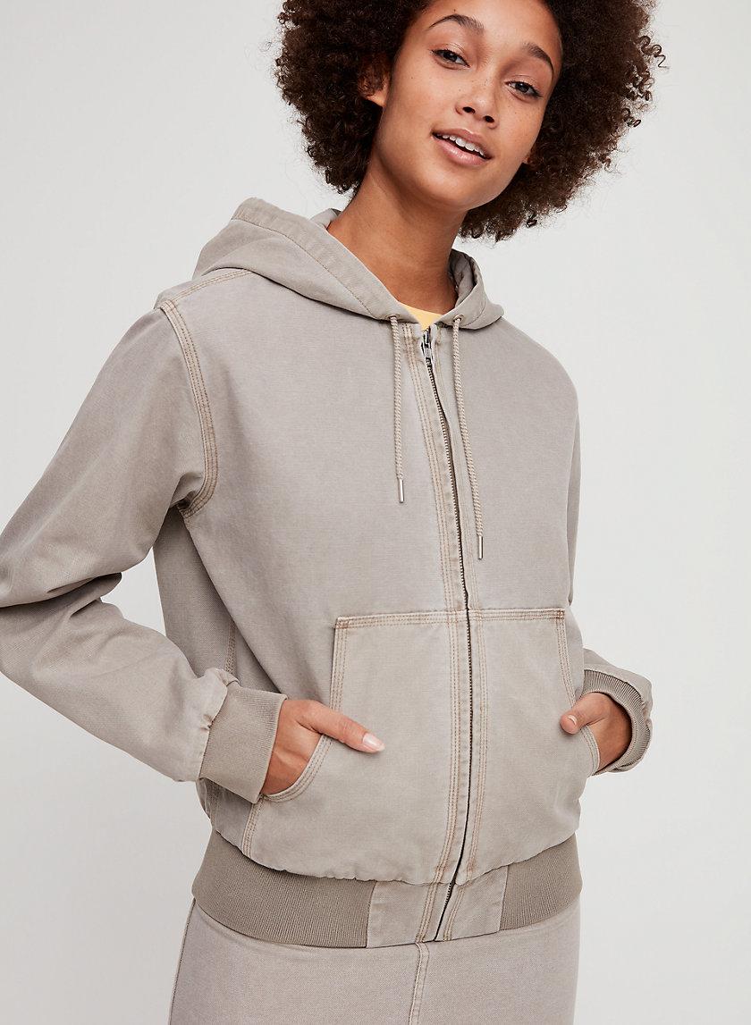 DAISY JACKET - Hooded bomber jacket