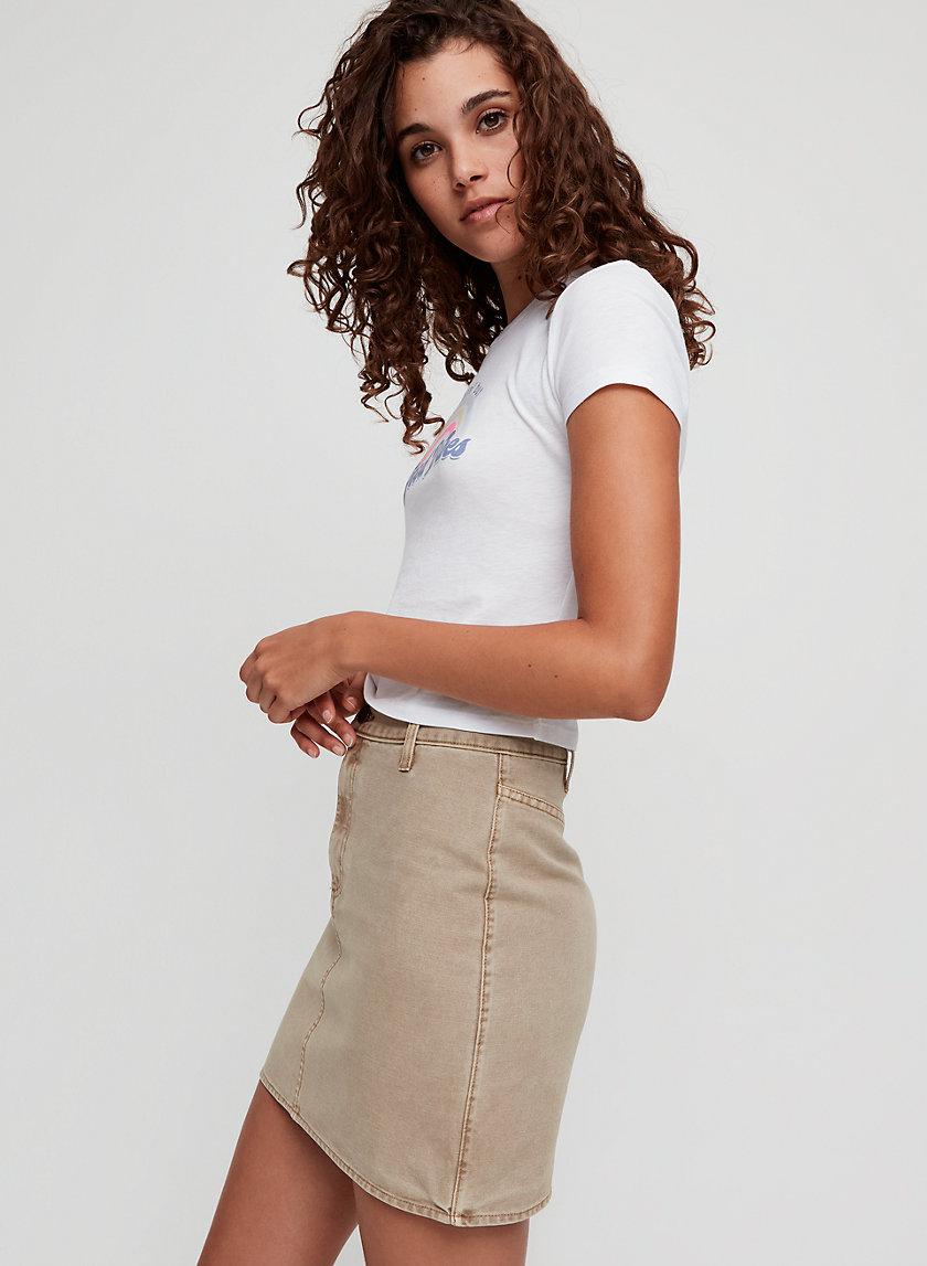 ANETA SKIRT - A-line mini skirt