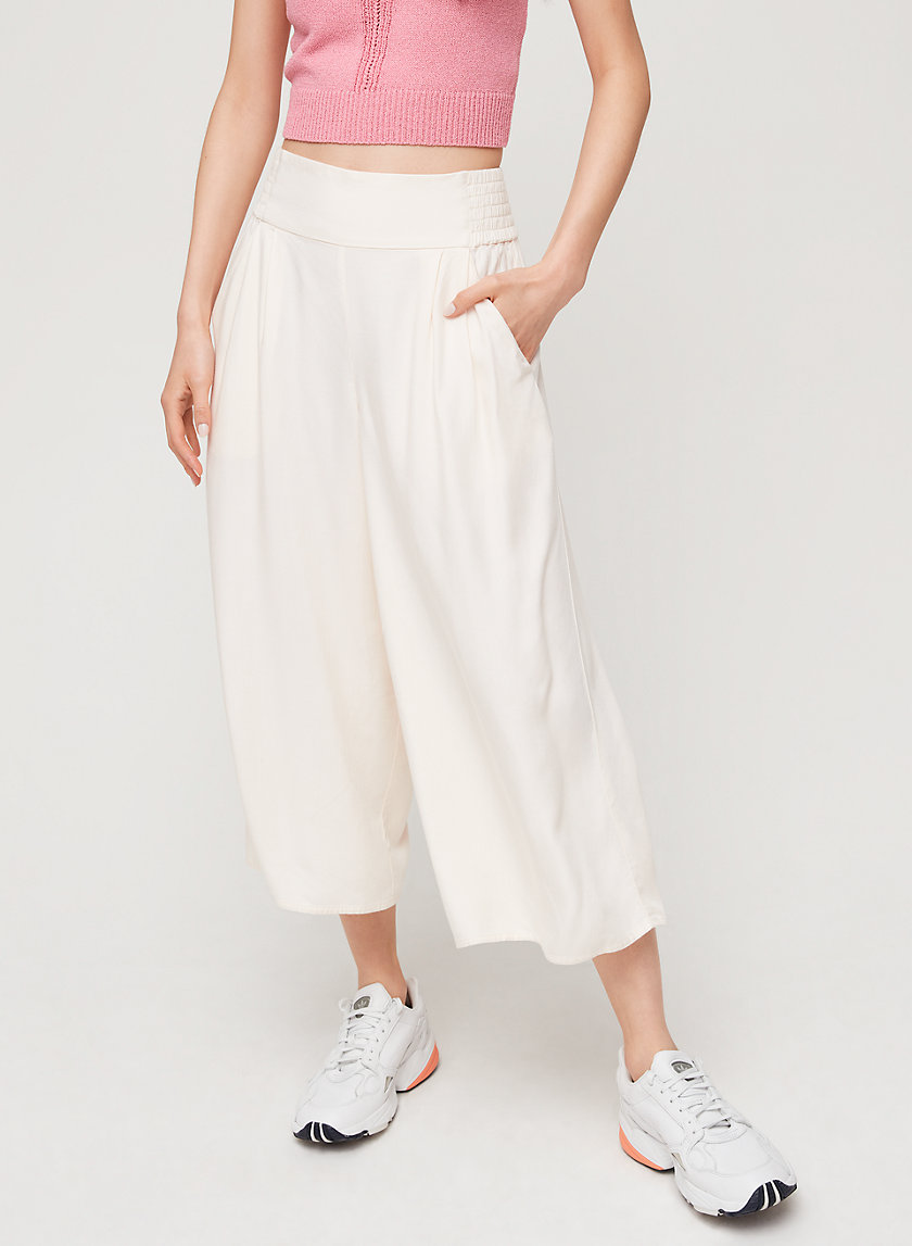 SULLIVAN PANT - High-waisted culottes