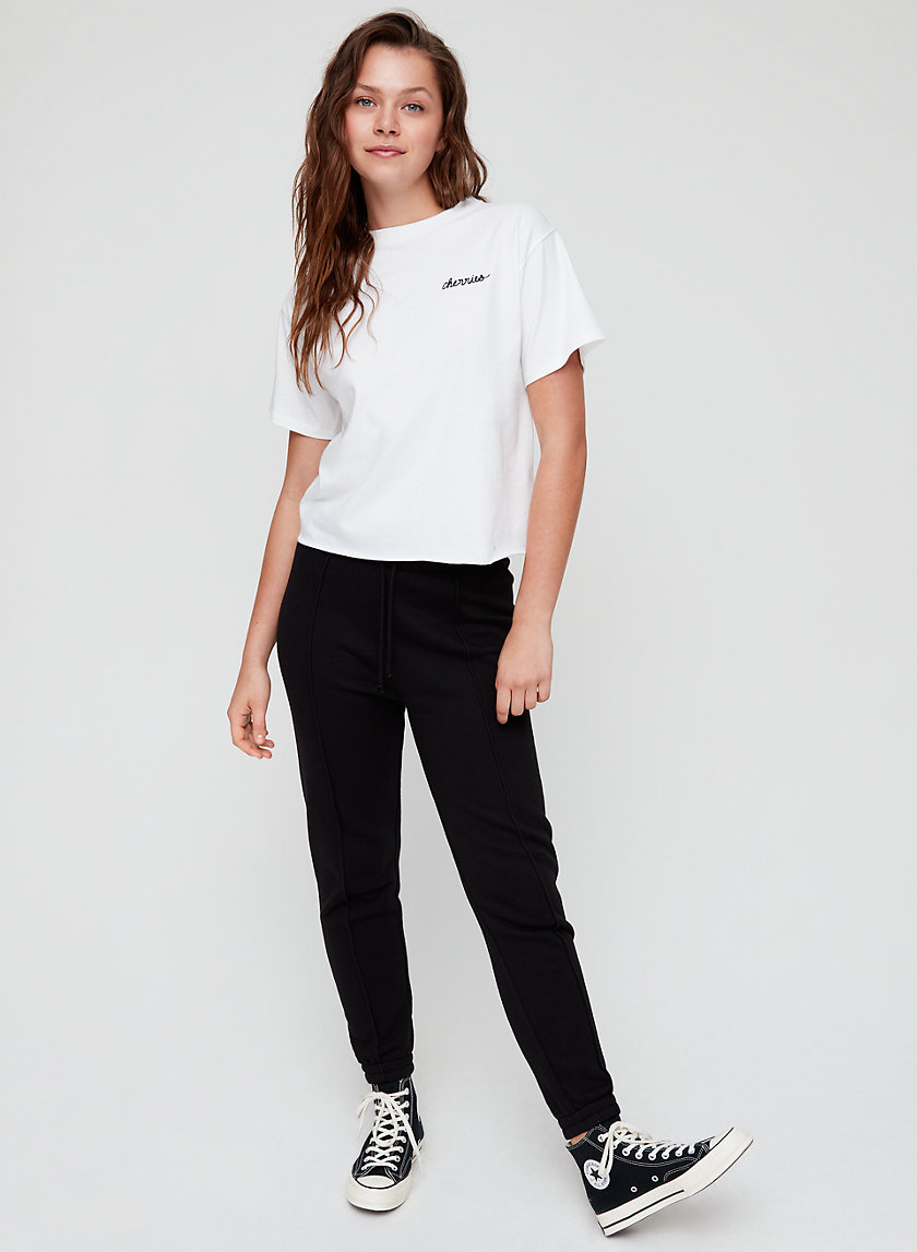 CELIE PANT - High-waisted slim joggers
