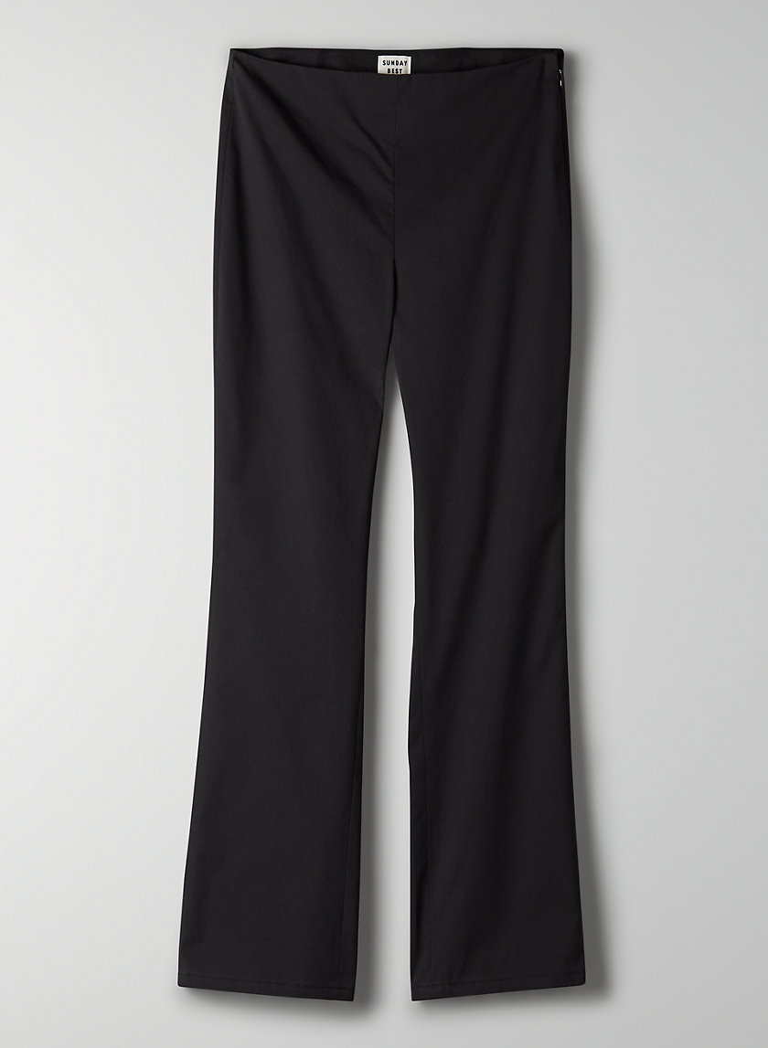 MERIDA PANT - Cropped, high-waisted pant