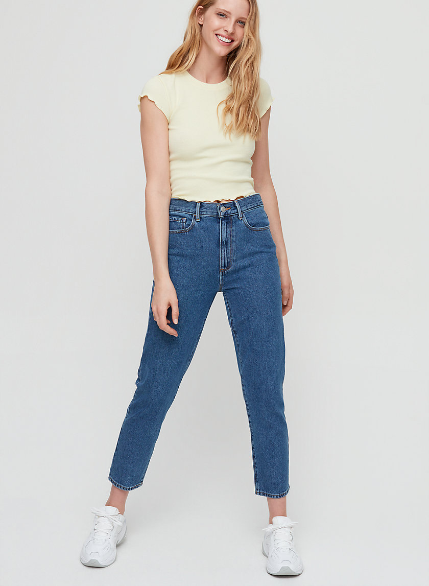 MATILDA JEAN - High-waisted mom jean