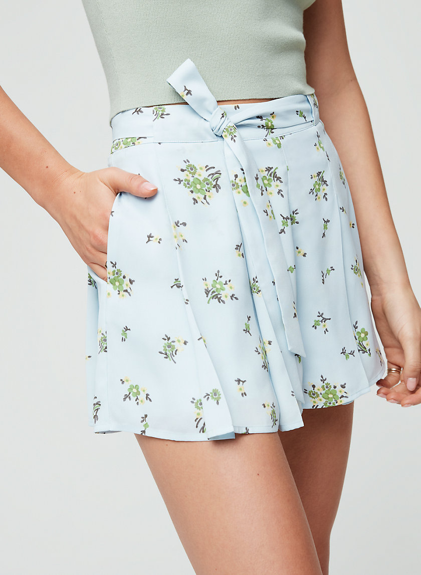 WESTLEY SHORT - Flowy floral shorts