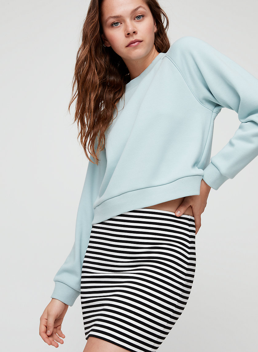 KALILA SKIRT - Striped, bodycon mini skirt