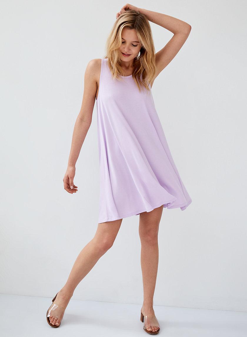 PRINCELY DRESS - Flowy trapeze dress