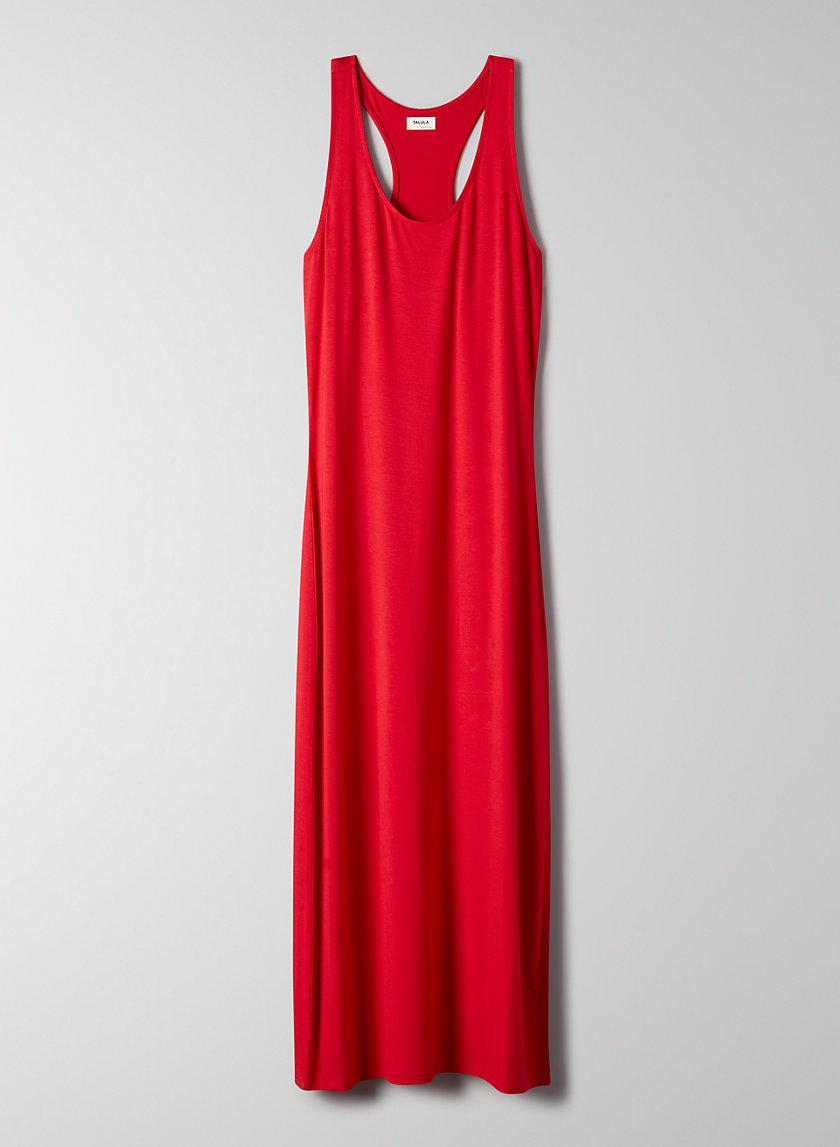 GALLATIN DRESS - Racerback maxi dress