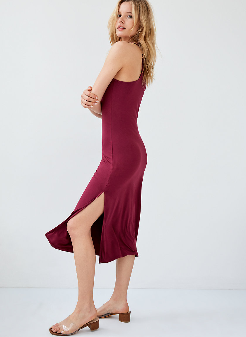 GALLATIN DRESS - Racerback maxi dress