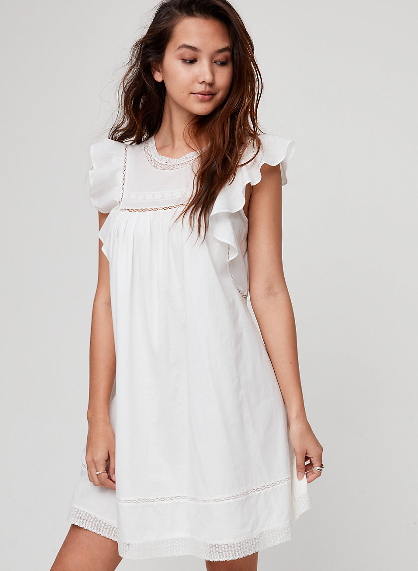 ANAYA DRESS - Cotton babydoll dress