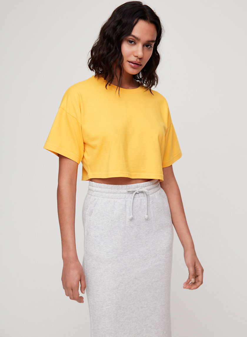 Tna DITMAS CROPPED TOP | Aritzia