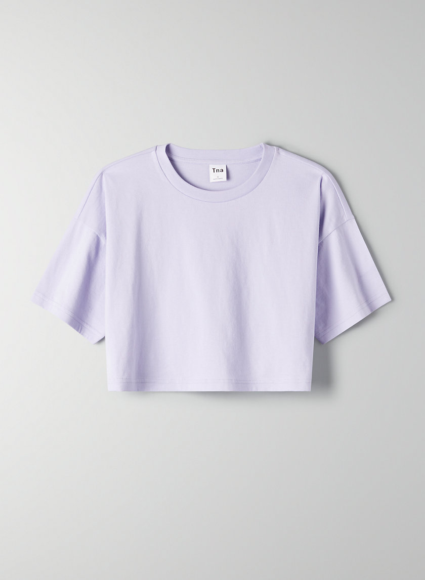 DITMAS CROPPED TOP - Cropped, boxy t-shirt