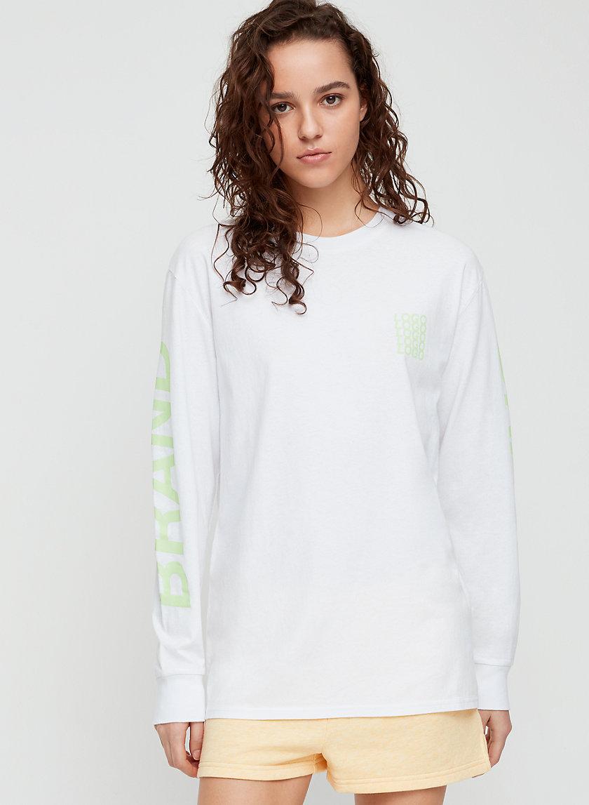 TOUR LONGSLEEVE - Boyfriend-fit crewneck t-shirt