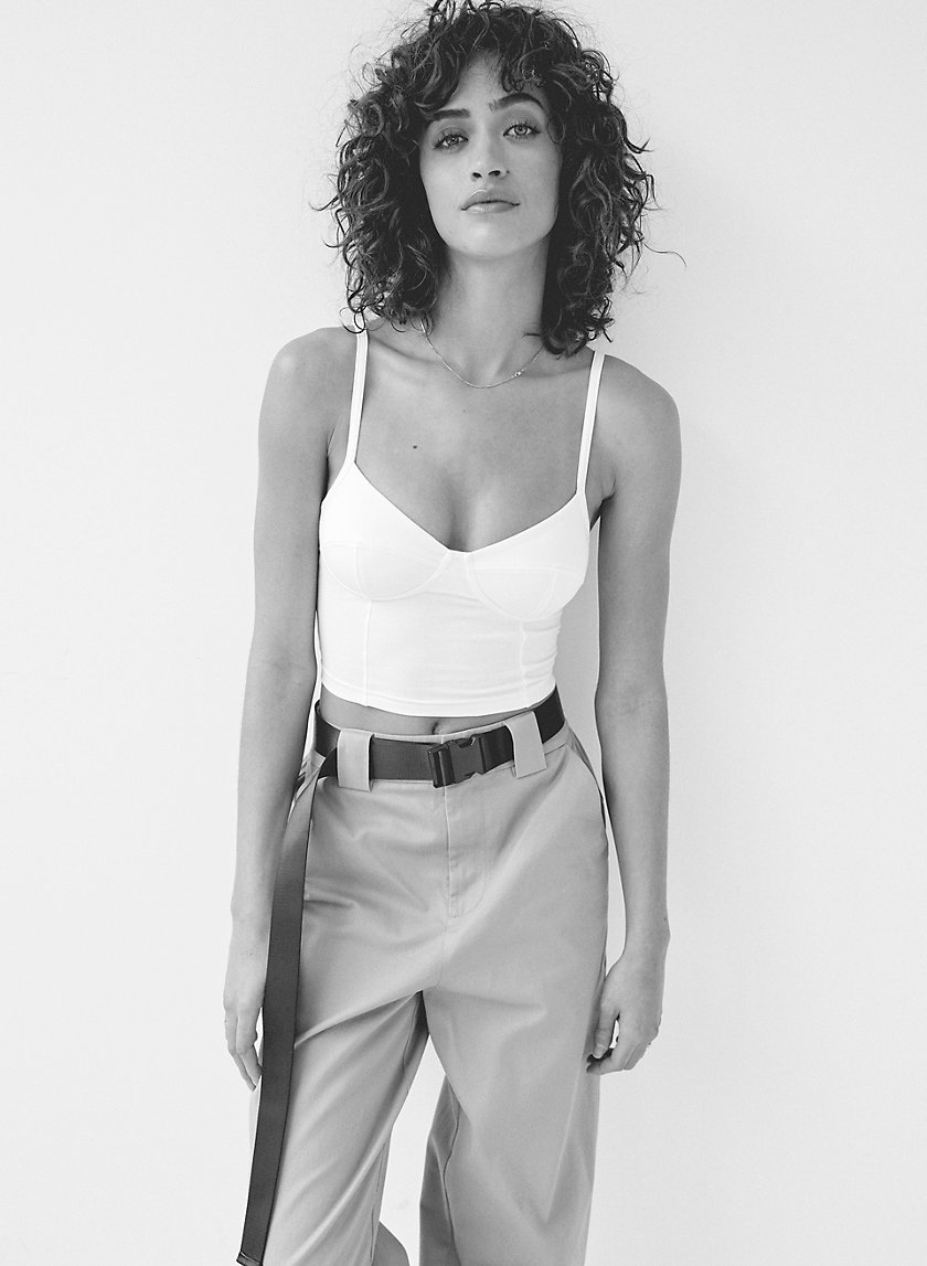 '90S CLAUDIA BUSTIER - Cropped bustier tank