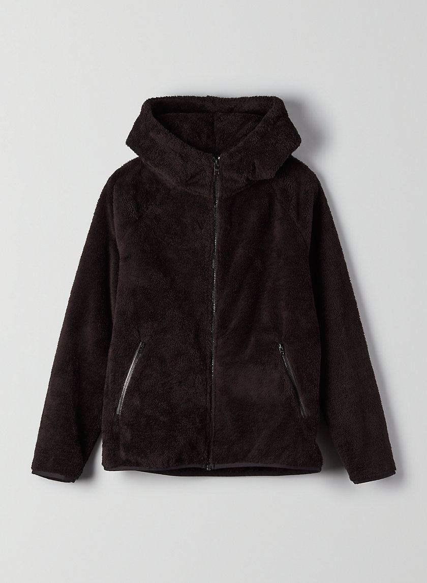 THE TEDDY ZIP-UP - Fleece zip-up hoodie