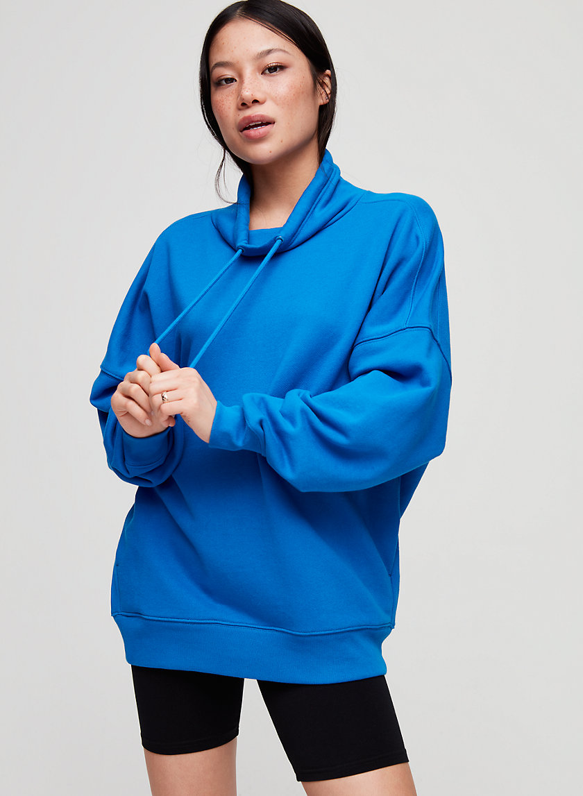 BILLI SWEATSHIRT - Oversized funnel-neck sweatshirt