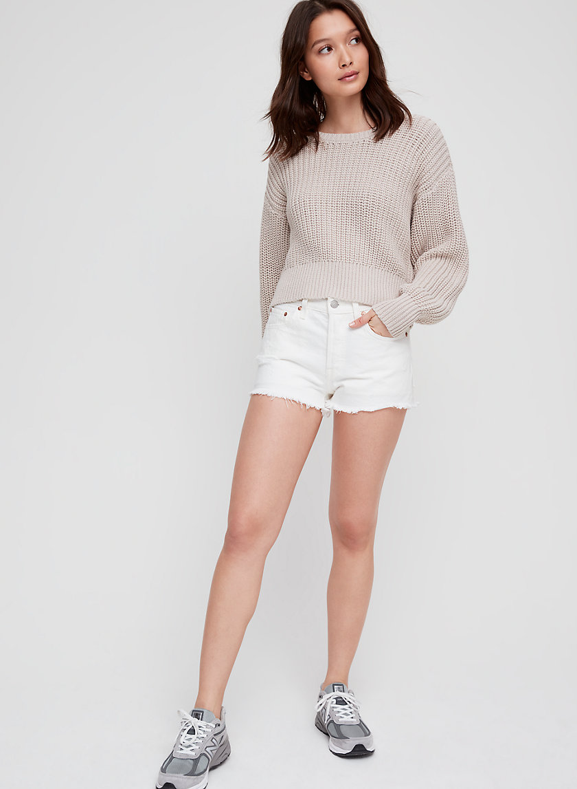 THE FISHERMAN SWEATER - Relaxed crewneck sweater