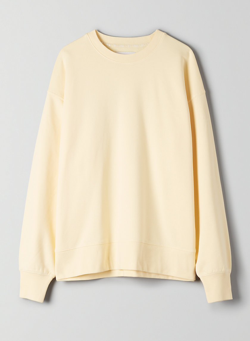 THE OVERSIZED CREW LIGHT - Oversized Crewneck Sweatshirt