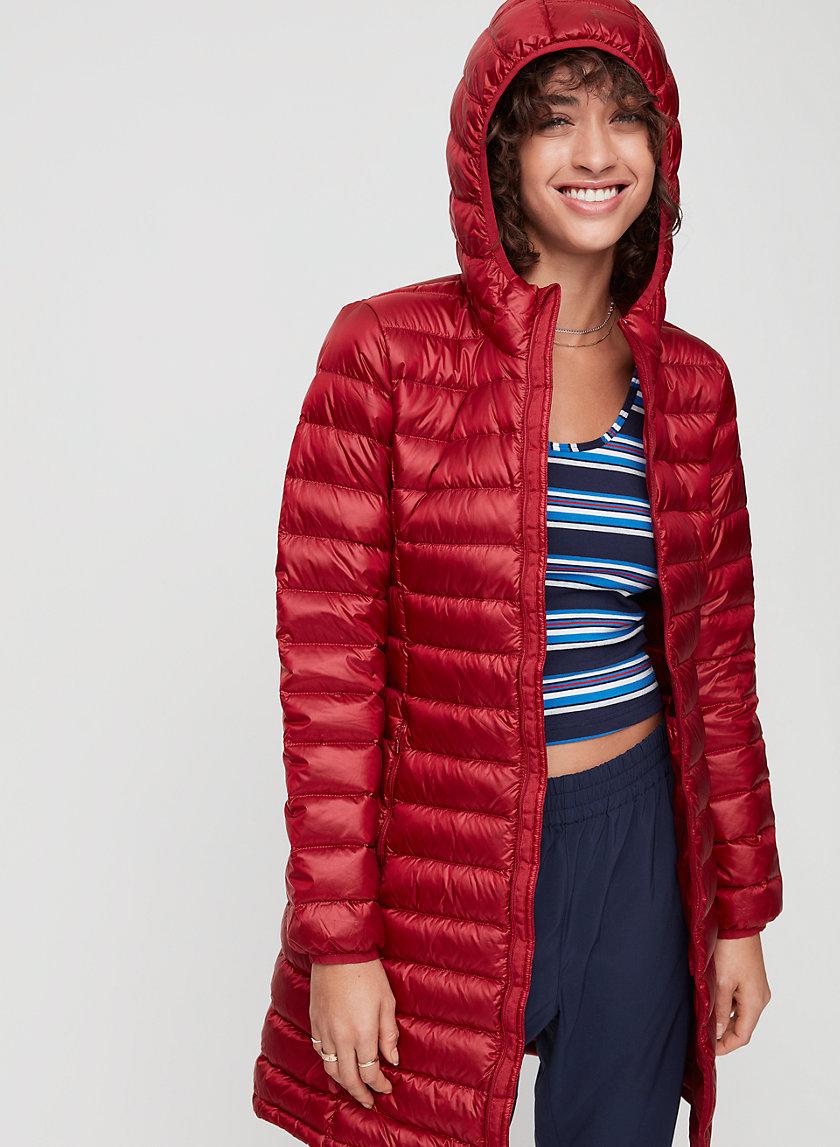 BOTANIE LONG PUFFER - Packable, goose-down puffer jacket