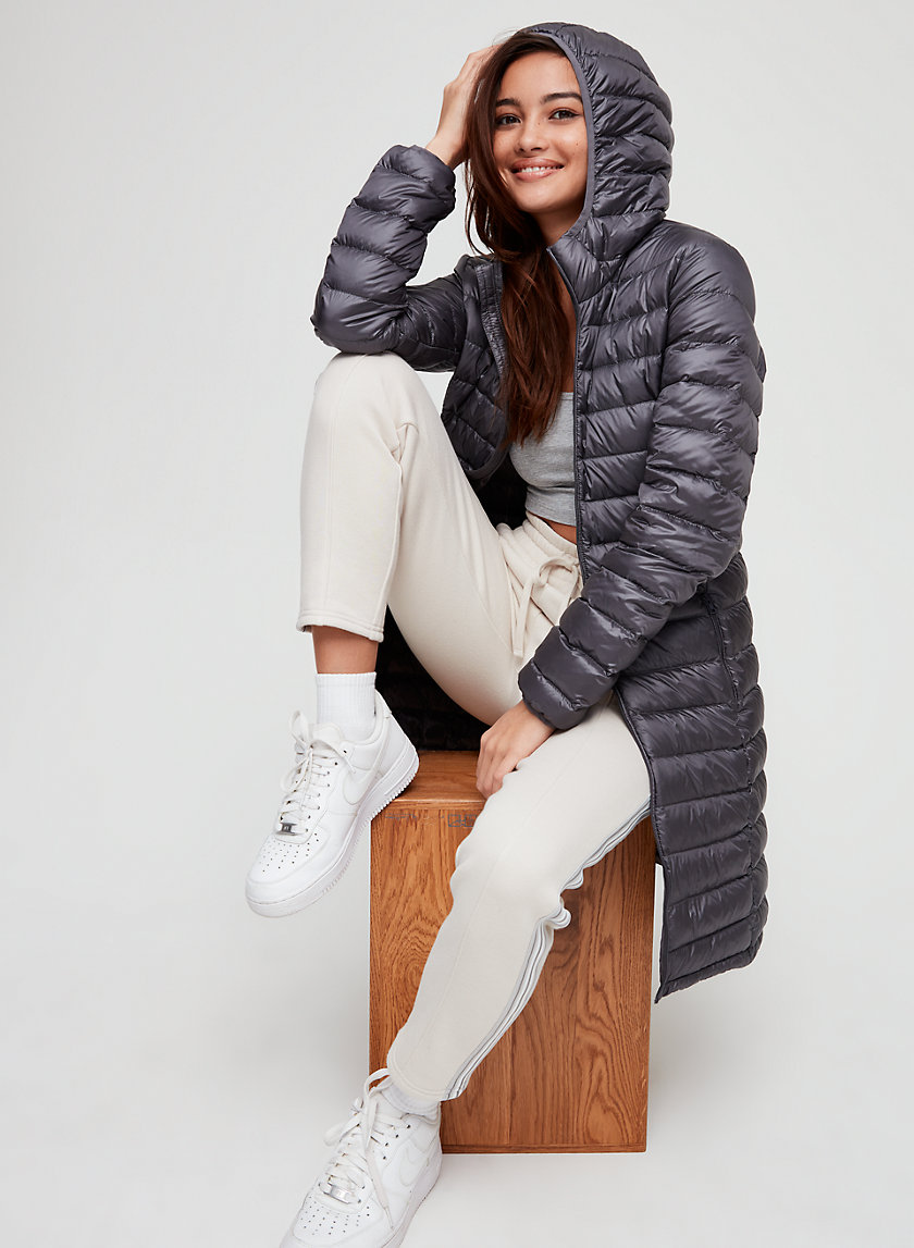 BOTANIE LONG PUFFER - Packable, goose-down puffer jacket