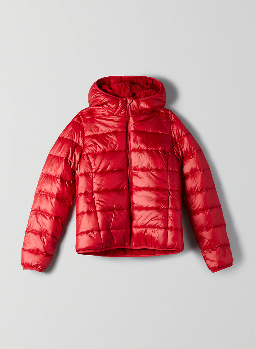 TEDDY PUFFER - Teddy lined goose down puffer