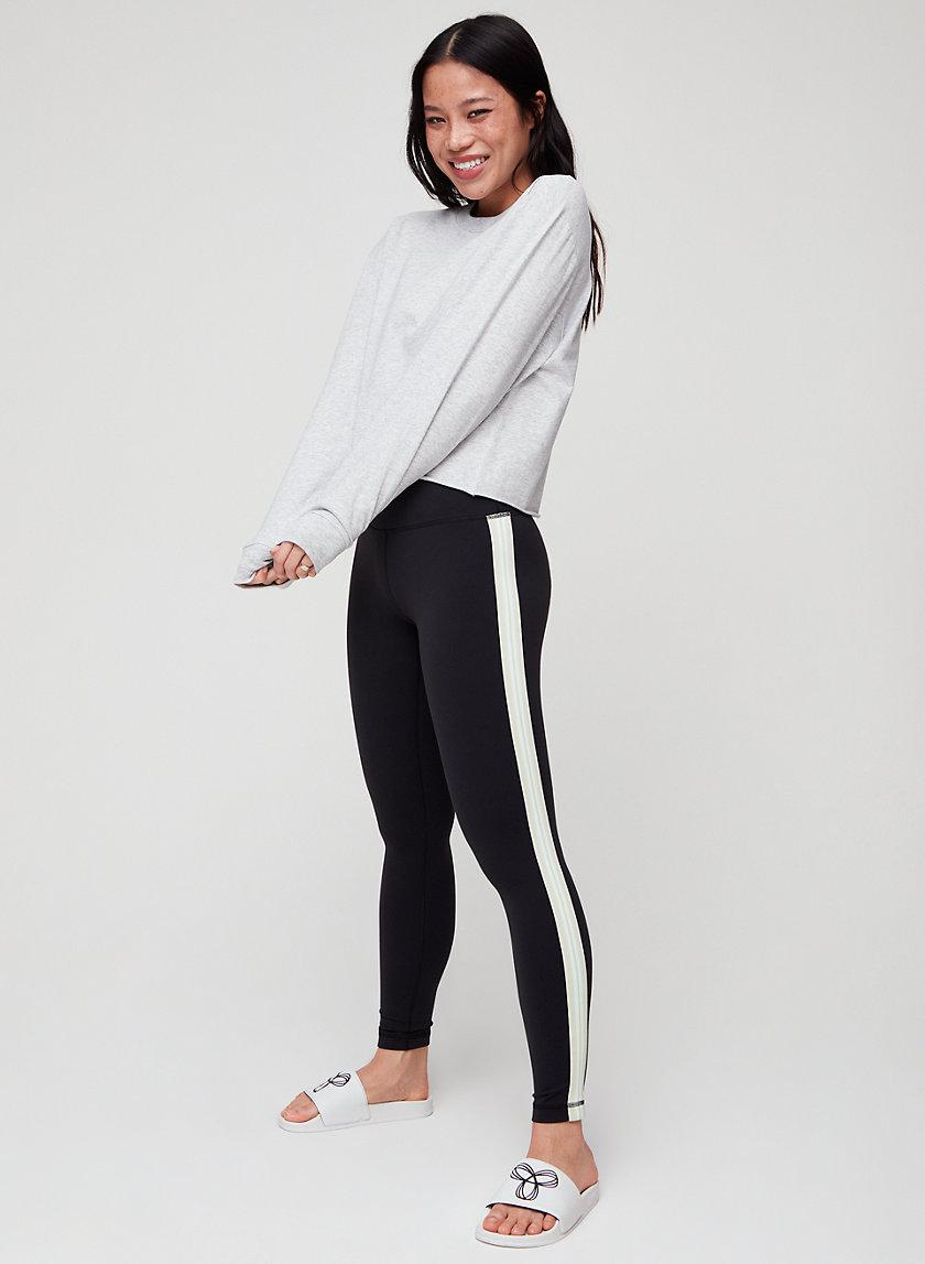 ATMOSPHERE LEGGING - High-waisted legging with side stripe
