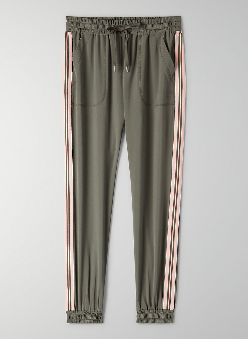 SPEED JOGGER - Slim-fit joggers with side stripe