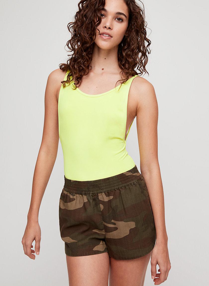 TROPE SHORT - Lightweight, camo shorts