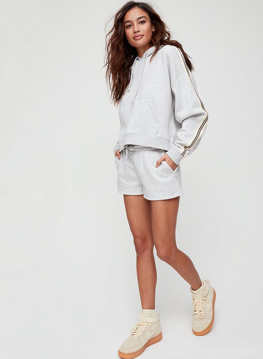 SLIM SWEAT SHORT LT - Fleece, drawstring shorts