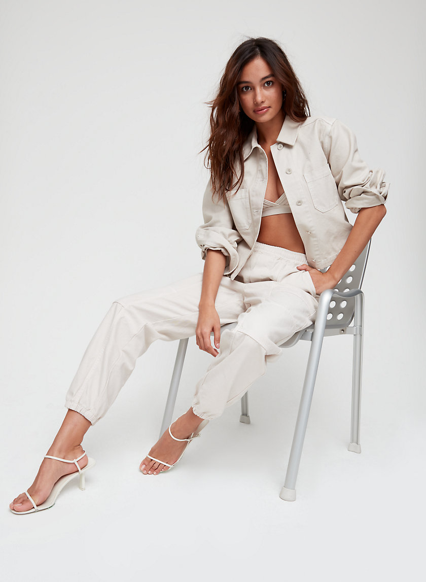 KACY PANT - Structured cargo pants