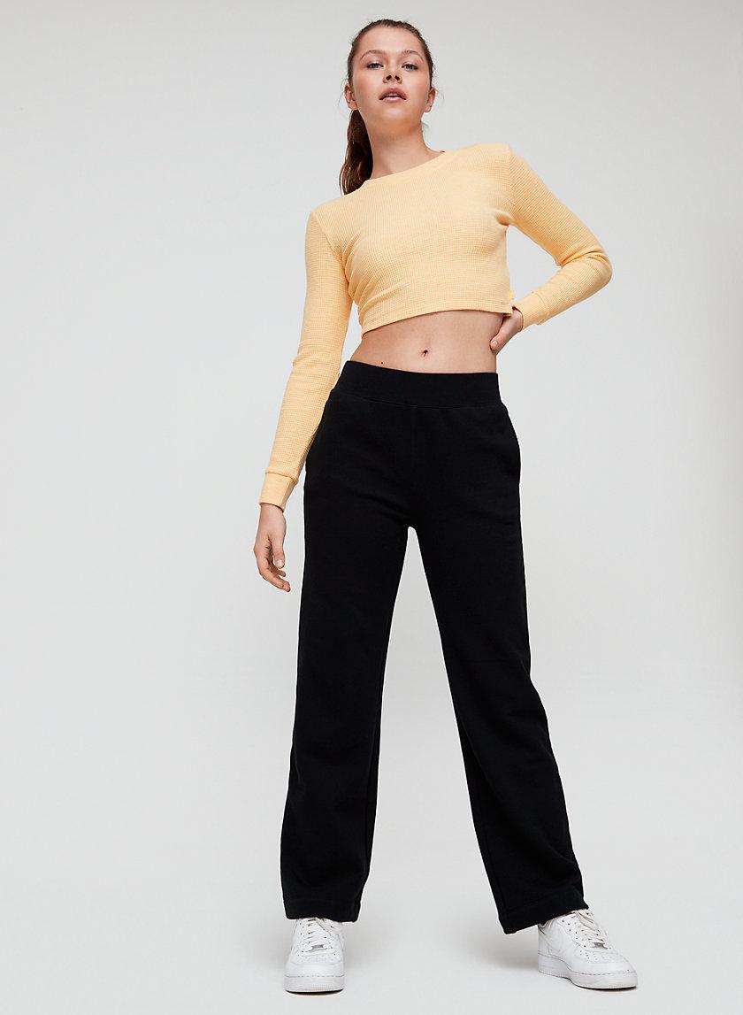 SHEENA SWEATPANT - Lightweight, wide-leg sweatpants