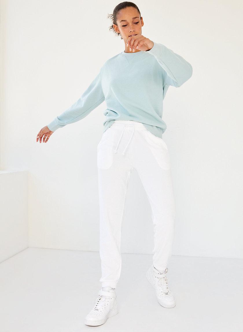 THE SLIM SWEATPANT - Slim terry-towel sweatpants