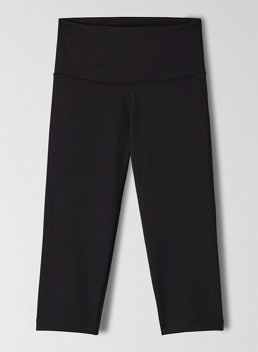 ATMOSPHERE PANT KNEE - Cropped, high-waisted workout leggings