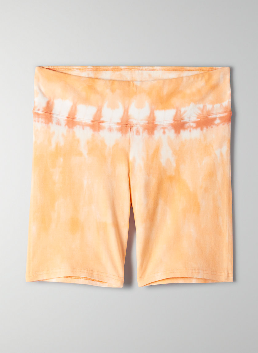 "EQUATOR SHORT 7"" - Tie dye bike shorts"