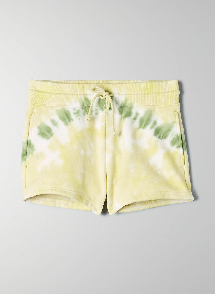PERFECT JOGGER SHORT - Tie-dye fleece shorts
