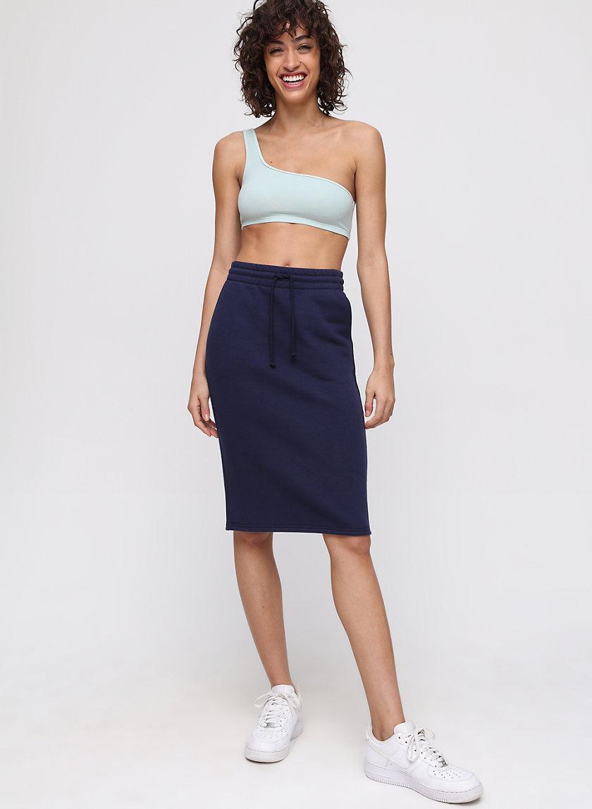 CARIBOO SKIRT - Fleece, drawstring skirt