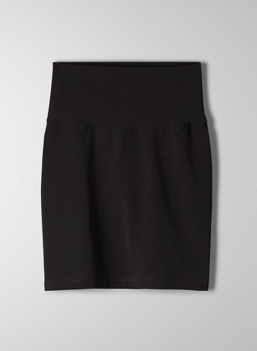 ATMOSPHERE SKIRT - High-waisted mini skirt
