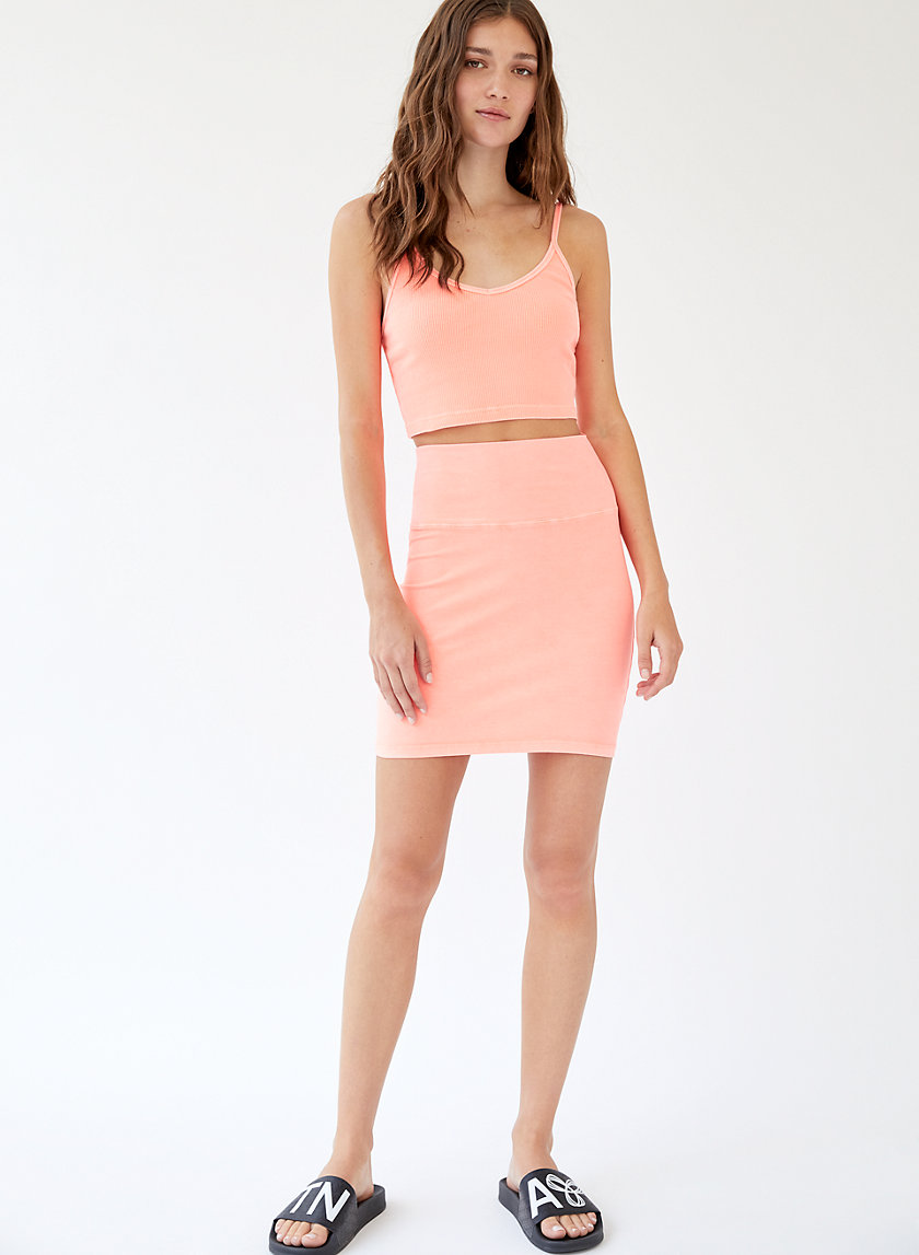 ATMOSPHERE SKIRT - High-waisted mini skirt